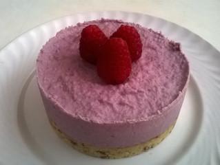 Raw Cake ai Lamponi