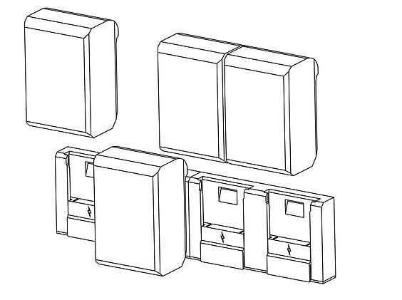 Unplug Batteries Sculpture Instructions.