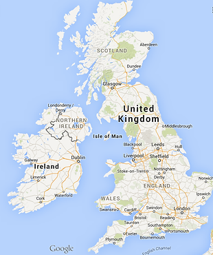 This is an image of the United Kingdom