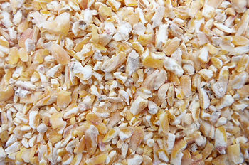 This is an image of Kibbled Maize