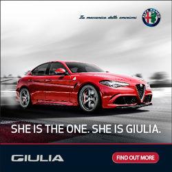 Alfa Romeo She is The One She is Giulia Print Ad