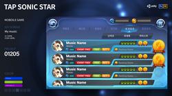 Mobile. Tab Sonic Star