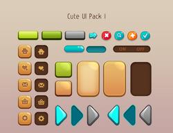 Cute UI Pack 1
