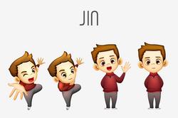 JIN chracter