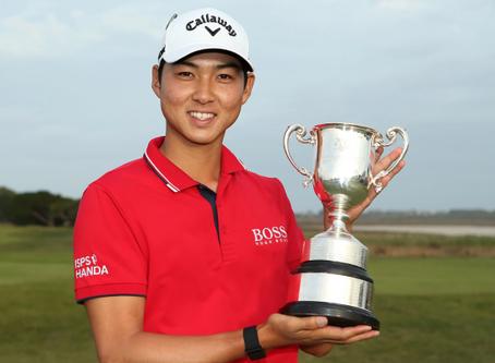 PGA Tour Player Min Woo Lee