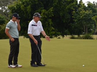 Coach Ian Triggs takes us on a lesson around 36-hole practice round