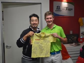 Jack, an Australian junior athlete joins AnK during his break for an intensive 2 weeks before return