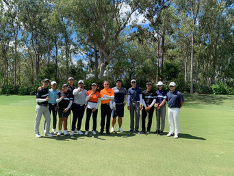 Lesson with Ian Triggs at Brookwater