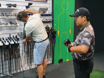 Club fitting with ANK students