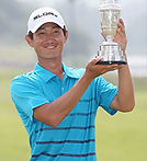 Jang Dong-kyu is a South Korean professional golfer. Jang plays on the Korean Tour, the OneAsia Tour, and the Japan Golf Tour where he has one win, the 2014 Gateway to the Open Mizuno Open.