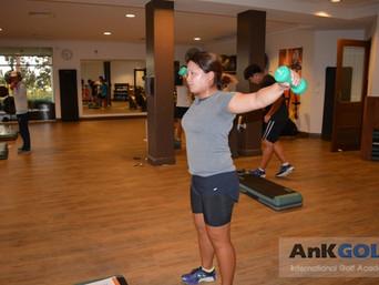 AnK Students Training Hard