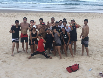 AnK Beach Training