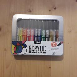 boite acryl marker (marqueurs de peintur