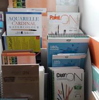 blocs et carnets pour dessins.jpg