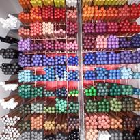 crayons de couleur polycolor ou aquarell