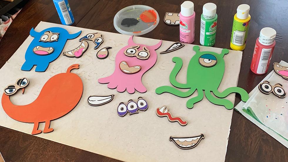 Little Monsters Craft Set