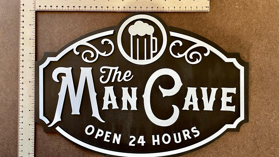 Hand Made Man Cave Sign