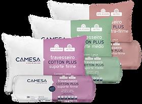Travesseiro Cotton Plus Rolinho Extra