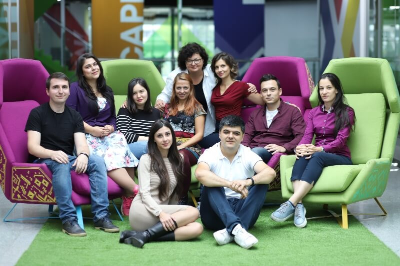 FindMeCure team at Campus X, Sofia