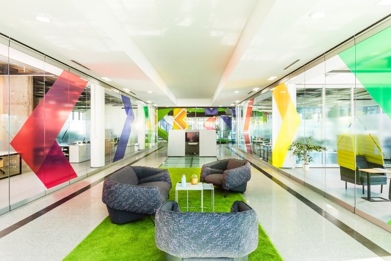 Campus X - safe and beautiful offices and workspaces in Sofia