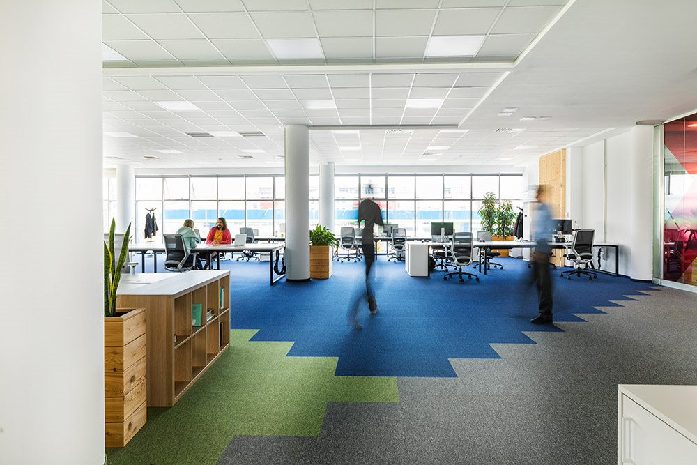 Shared office-Campus X-desks-people
