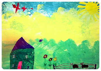 Children artwork - farm