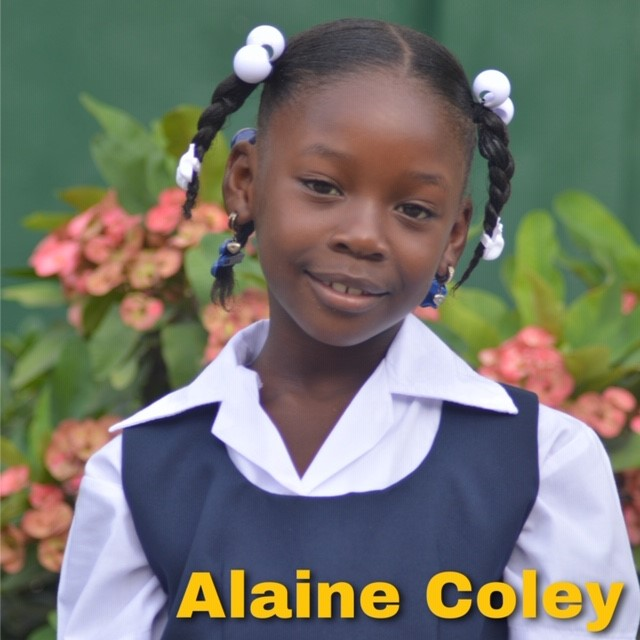 Sponsor Alaine Coley today