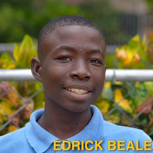 Sponsor Edrick Beale today