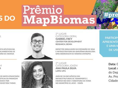 Prêmio MapBiomas apresenta vencedores