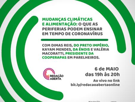 Mudanças climáticas e alimentação: o que as PERIFERIAS podem ensinar em tempo de coronavírus