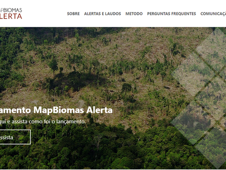 MapBiomas Alert is on air