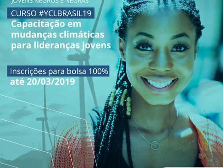 Curso #YCLBrasil19 oferece bolsas para jovens negros(as) e de baixa renda