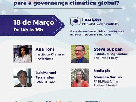 A Governança Climática Global com Biden