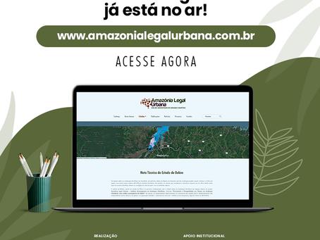 Amazônia legal Urbana e Online