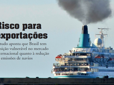Maritime emissions and Brazilian commodities