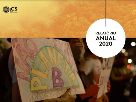 Relatório Anual do iCS faz um recorte do macroambiente da agenda climática em 2020. Confira!
