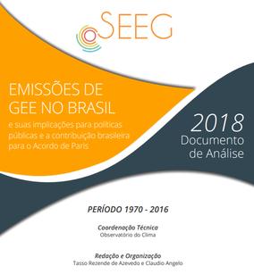 Emissões de GEE no Brasil e suas implicações para políticas públicas e a contribuição brasileira para o Acordo de Paris