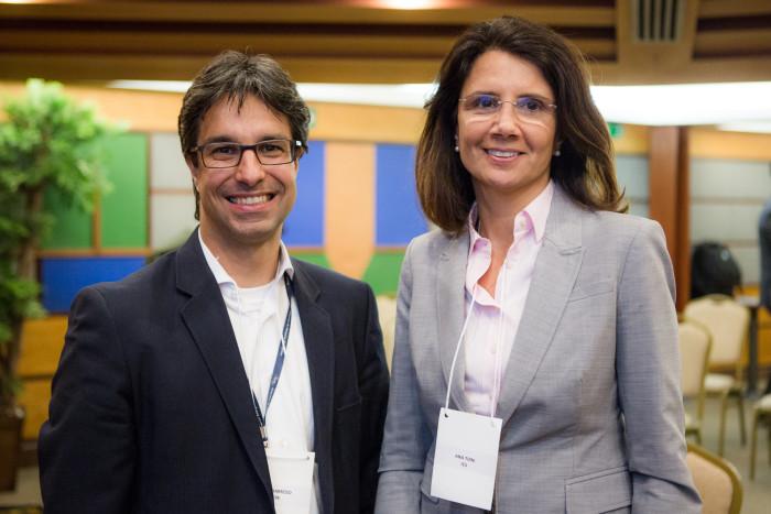 Ana Toni, diretora-executiva do Clima e Sociedade, participou da Sessão de Abertura ao lado de Luiz Augusto Barroso, presidente da EPE