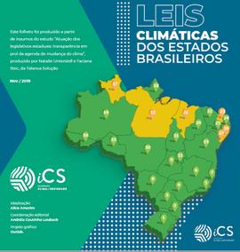 Folder sobre Leis Climáticas no Brasil