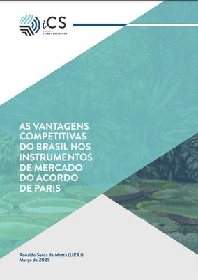 As Vantagens Competitivas do Brasil nos Instrumentos de Mercado do Acordo de Paris