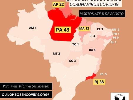 COVID-19: quilombos in Pará lead the death rate among the quilombola population of Brazil