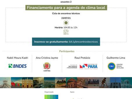 Financiamento para a agenda de clima no nível local