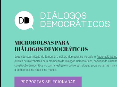 Pacto pela Democracia apoia 10 Diálogos Democráticos