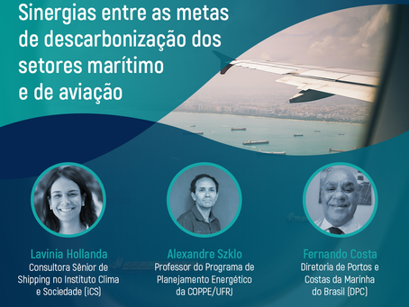 Como a descarbonização da aviação pode ajudar o setor marítimo?