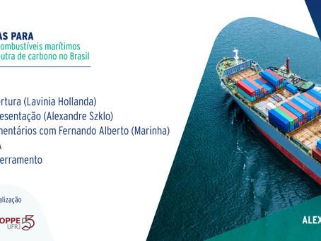 Perspectivas para a produção de combustíveis marítimos com emissão neutra de carbono no Brasil