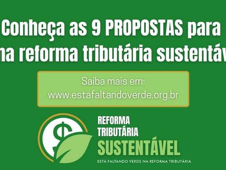 Por uma reforma tributária sustentável
