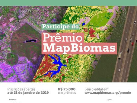 MapBiomas premia estudos sobre infraestrutura e uso do solo