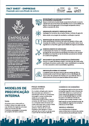 Fact Sheet – Empresas