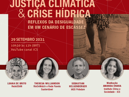 Climate justice and water scarcity