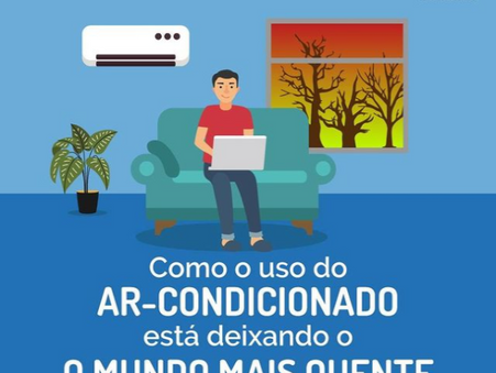 Se Liga na Conta do Ar Condicionado